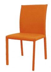 Silla Granate - Tapizado Naranja