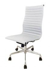 Silla Aluminum Alta SB - Tapizado Blanco