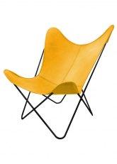Sillón BKF N - Tapizado Amarillo