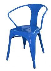 Sillon Tolix - Tono Azul Claro