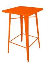 Mesa Alta Tolix 60 - Tono Naranja