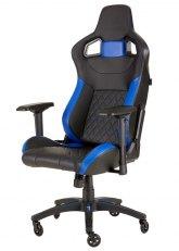 Corsair T1 Race - Negro con Azul