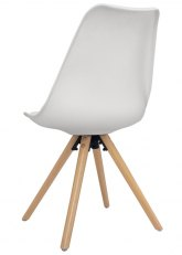 Silla Eames Wood - Blanco