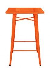 Mesa Alta Tolix 70 - Tono Naranja