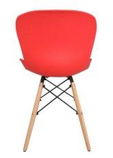 Silla Dinamarca - Rojo