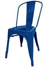 Silla Tolix Especial - Tono Azul Oscuro