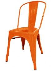 Silla Tolix Especial - Tono Naranja