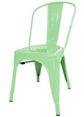 Silla Tolix Especial - Tono Verde Agua