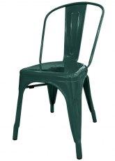 Silla Tolix Especial - Tono Verde Oscuro