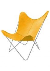 Sillón BKF G - Tapizado Amarillo