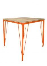 Mesa Lennox 70 - Tono Naranja