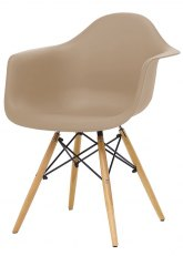 Sillón Eames - SO - Beige Sandy