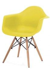 Sillón Eames - SO - Amarillo Fuerte