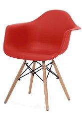 Sillón Eames - SO - Rojo