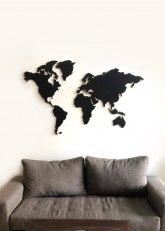 Cuadro Tu Mundo - Negro