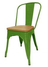 Silla Tolix Madera Plus - Tono Verde Claro