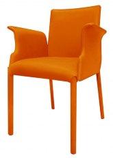 Sillon Onyx - Tapizado Naranja