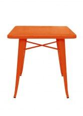 Mesa Tolix 70 - Tono Naranja