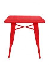 Mesa Tolix 70 - Tono Rojo