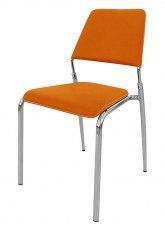 Silla Zafiro - Tapizado Naranja