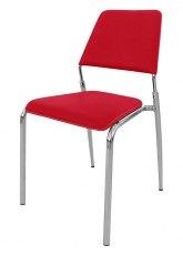 Silla Zafiro - Tapizado Rojo