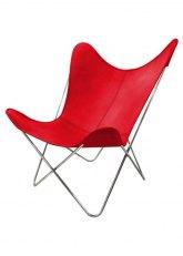 Sillón BKF - Tapizado Rojo