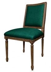 Silla Luis XVI cuadrada - Don Verde Ingles