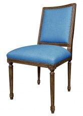 Silla Luis XVI cuadrada - Don Blue