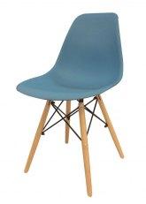 Silla Eames Sin Armar Colores - SE - Azul Cadete