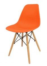 Silla Eames Sin Armar Colores - SE - Naranja