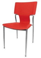 Silla Diamante Plus - Tapizado Rojo