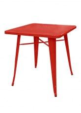 Mesa Tolix 80 - Tono Rojo