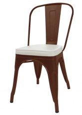 Silla Tolix AM - Tono Marron