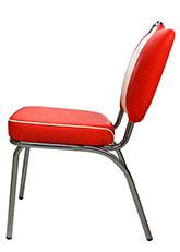 Silla American Vintage - Tapizado Rojo