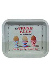 Bandeja Chica Eggs - Gris Claro