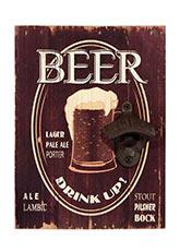 Destapador de pared black beer - Motivos Varios