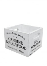 Cajón Chico Wholefood White - Blanco