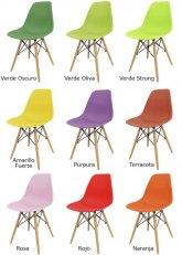Silla Eames Sin Armar Colores