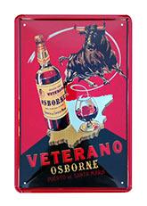 Cuadro Veterano Osborne - Rojo