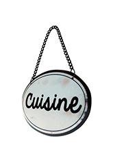 Cartel Cuisine Vintage - Tono Blanco