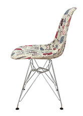 Silla Eames Paris - Tela Paris
