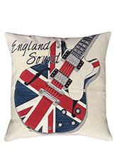 Almohadón England Sound - Motivos Varios