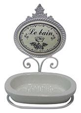 Jabonera grande Le Bain - Blanco