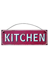 Cartel Kitchen Red - Rojo