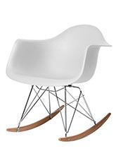 Silla Mecedora Eames - Blanco