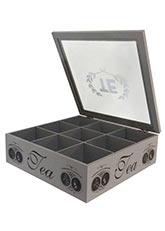 Caja de Te Medailes - Gris Claro