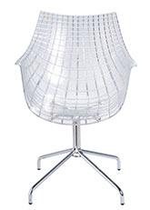 Silla Meridiana - Transparente