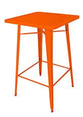Mesa Alta Tolix 80 - Tono Naranja