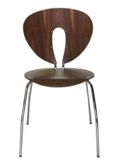 Silla Miami Hard Wood - Madera Oscura