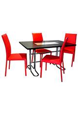 Mesa pintada Moscu - Negro